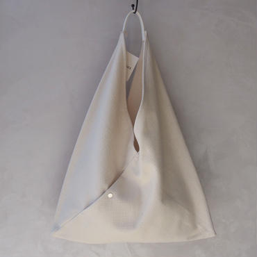 CaBas N°40Triangle Tote Large White/White