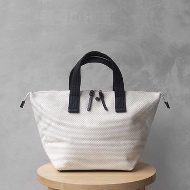 CaBas N°33 Bowler bag small White/Black