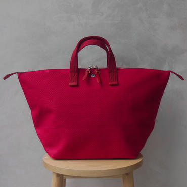 CaBas N°32-Bowler bag medium Red/Red