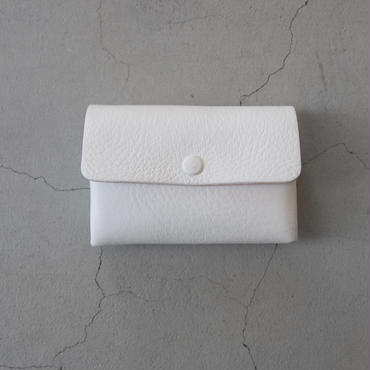 Aeta DEER CARD CASE 2 LAYER WHITE