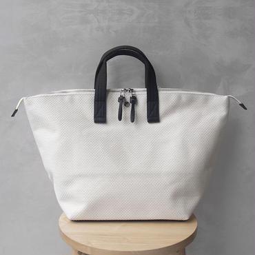 CaBas N°32-Bowler bag medium White/Black