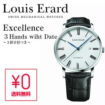 【正規品】Louis Erard エクセレンス 3 Hands LE68233AA01BDC29