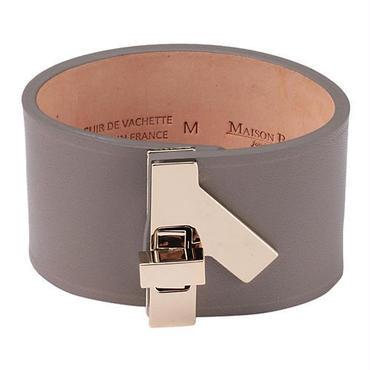 MAISON BOINET(メゾンボワネ) 95232G 本革 バングル/ブレスレット Made in France