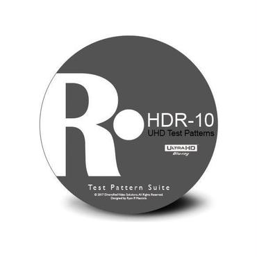 DVS UHD|HDR-10 Video Calibration Disc「UltraHD Blu-ray Disc版」