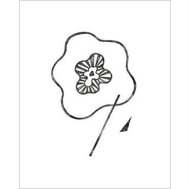 「単調な花 #01」阿部寛文, Ed.2, まちなかアート・エディションズ