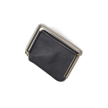 """HOOKE"" COIN CASE  *Black"