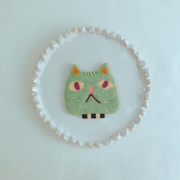 greenネコ(クッキー1枚、ギフトボックス入り)