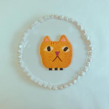 2/12発送:yellowネコ(クッキー1枚、ギフトボックス入り)