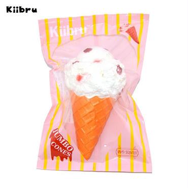 【送料無料】【Kiibru】スーパージャンボアイスクリーム・ホワイト/スクイーズ