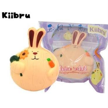 【Kiibru】玉ねぎウサギ/ベージュ/ラビット/スクイーズ