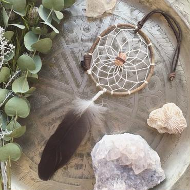 Dream Catcher Aragonite/Natural S
