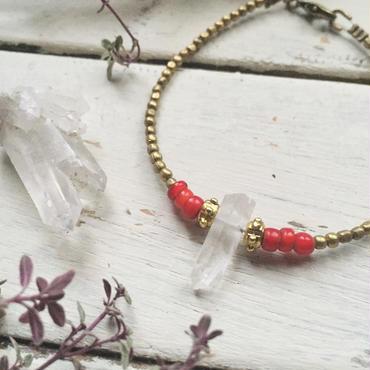 Crystal/Whitehearts Bracelet