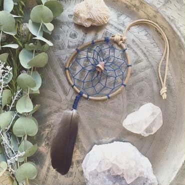 Dream Catcher Aragonite/Navy