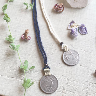 Afghan Vintage Coin  Necklace