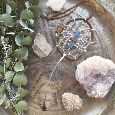 Dream Catcher Kyanite/Natural S