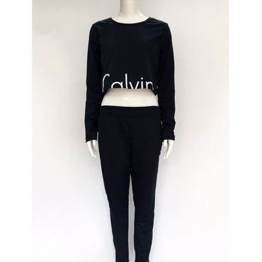 新品  Calvin Klein カルバンクライン セットアップ 上下セット 長袖 3色選択