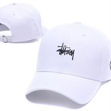 新品  ステューシー STUSSY キャップ 帽子 男女兼用 人気 美品  可愛い  3色