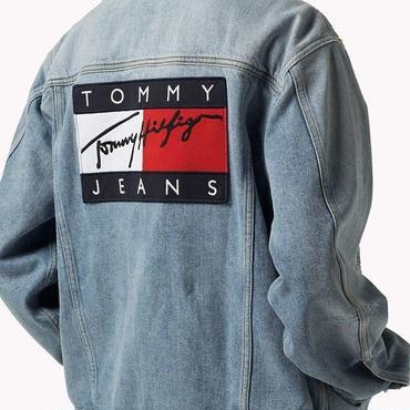 早秋新品  人気 Tommy Hilfiger トミーヒルフィガー デニムジャケット 男女兼用 2色