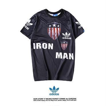 新品  アディダス  adidas Tシャツ 半袖 男女兼用 人気 美品