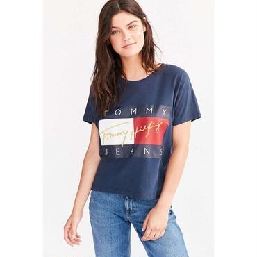 新品  人気 Tommy Hilfiger トミーヒルフィガー Tシャツ 半袖 男女兼用 人気 4色