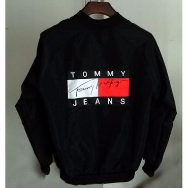 早春新品  Tommy Hilfiger トミーヒルフィガー ジャージ ジャケットウインドブレーカー ブルゾン 男女兼用 2色