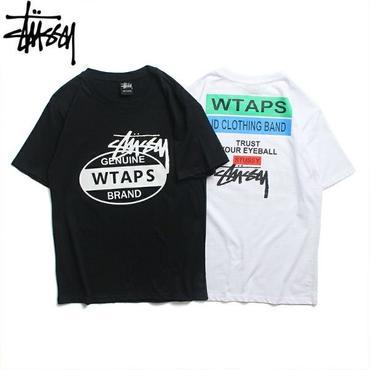 新品  STUSSY ステューシー Tシャツ 半袖 男女兼用 人気商品 2色