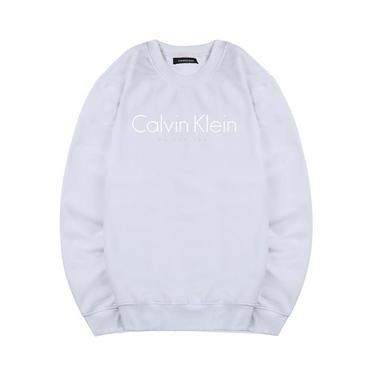 早春新品 カルバンクライン Calvin Klein スウェット 人気 トレーナー 男女兼用 カップル ホワイト