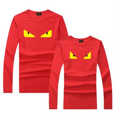 早春新品 人気シャツ Tシャツ 男女兼用 カップル かわいい 男女サイズ FE 大人気   レッド