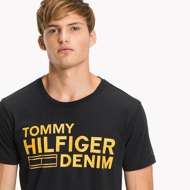 新品  トミーヒルフィガー Tommy Hilfiger Tシャツ 半袖 男女兼用 夏 人気商品 4色