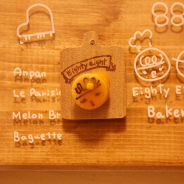 《選べるミニパンシリーズ》しょこさん88クンパンケーキ ピンバッジ・マグネット・キーホルダー どれにする?