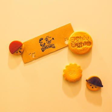 《新作》まるでさくさく食べられそう!スイーツ男子タマさん超オススメ★クッキーマグネット 88セット!しょこシェフ手作りの為数量限定品です!