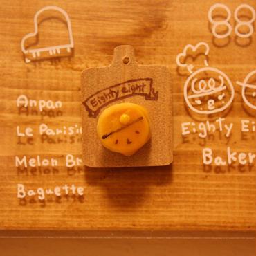 《選べるミニパンシリーズ》タマさん88クンパンケーキ ピンバッジ・マグネット・キーホルダー どれにする?
