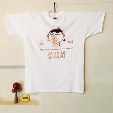 【KOME 新作】あをによしTシャツ  - 黄金 × 漆喰