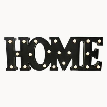 マーキーライト ホーム ブラック MARQUEE LIGHT HOME BLACK 【34998】