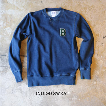 T-03 / INDIGO SWEAT