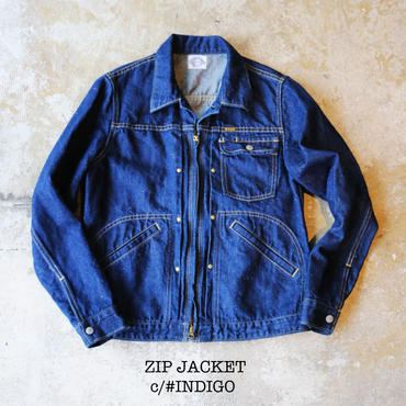 JK-01 / Zip Jacket