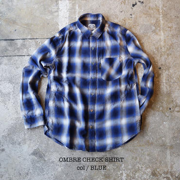 OMBRE CHECK SHIRT