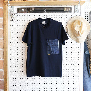 T-07 / INDIGO BIG POCKET T-SHIRT
