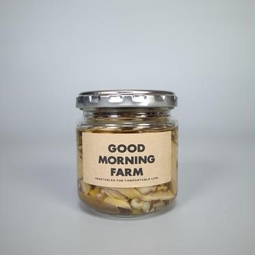 good morning farm / しいたけオイル漬け