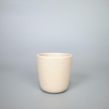 sueki ceramics / short cup / ivory