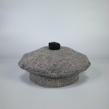 oldman's tailor / R&D.M.Co- / beret / herringbone tweed