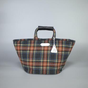 oldman's tailor / R&D.M.Co- / marche bag small / tartan check