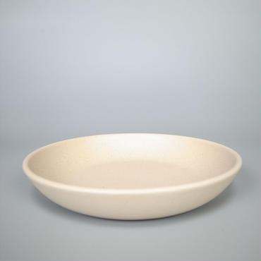 sueki ceramics / 210 deep plate / ivory