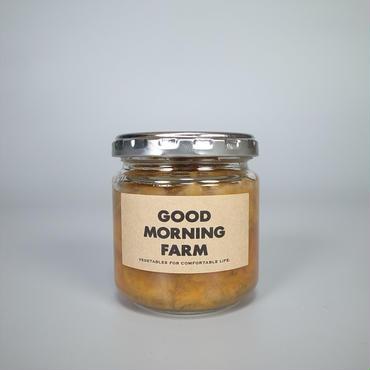 good morning farm / 柿の紅茶煮