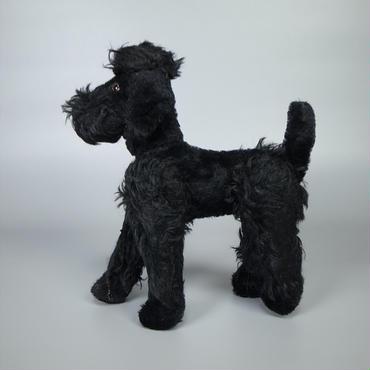 50s60s german stuffed dog
