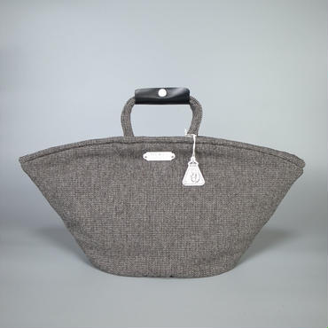 oldman's tailor / R&D.M.Co- / marche bag large / herringbone tweed