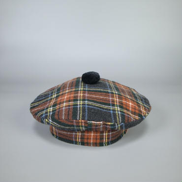 oldman's tailor / R&D.M.Co- / beret / tartan check