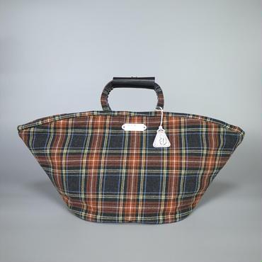 oldman's tailor / R&D.M.Co- / marche bag large / tartan check