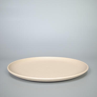 sueki ceramics / 270 plate / ivory