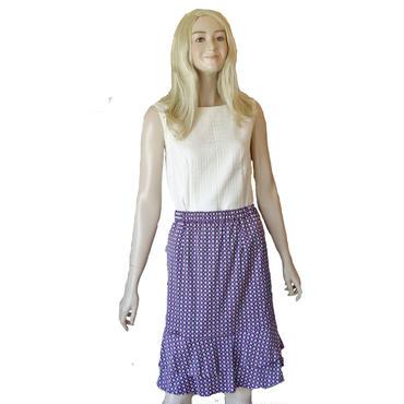 二段ティアードスカート